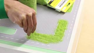 Как сделать траву на макете/ масштабное моделирование