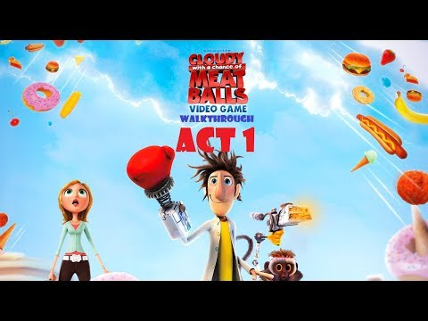 Cloudy with a Chance of Meatballs: The Videogame Walkthrough - Act 1