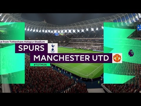 FIFA 20 Career Season 1 Premier League Matchday 34 Tottenham Hotspur vs. Manchester United