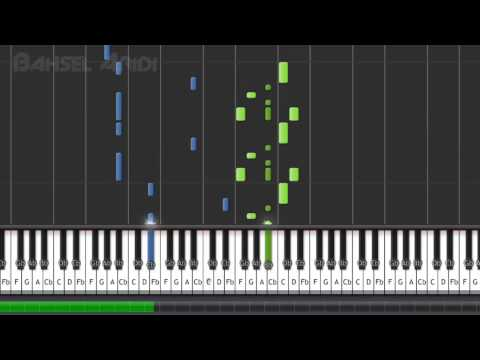 Chris Brown- With You - Piano Tutorial