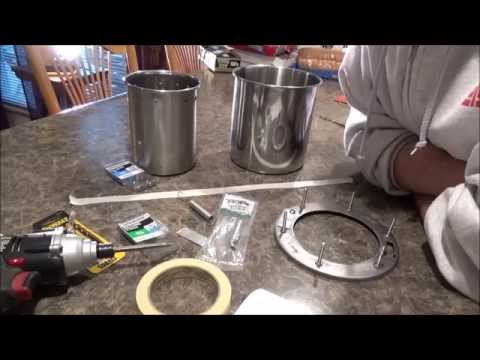 1/3 $25 Diy How To Stainless Steel Wood Pellet Gasifier Stove Cheap Easy Portable Just Put Together.