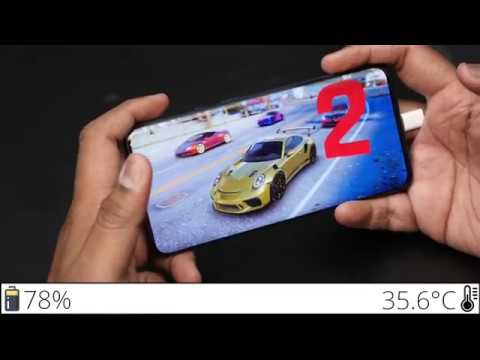 OnePlus 7T Pro Gameplay Experience with Temperature and Battery level