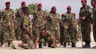 Dowladda Somalia oo Soo bandhigtay Ciidamo Layaab leh Somalia 🇸🇴