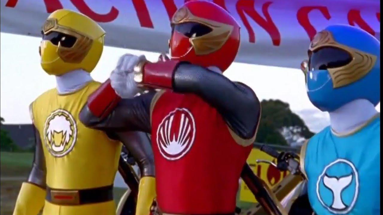 Power Rangers Ninja Storm Episode 38 in Hindi - Zord Destruction  Storm  Before The Calm Part 2