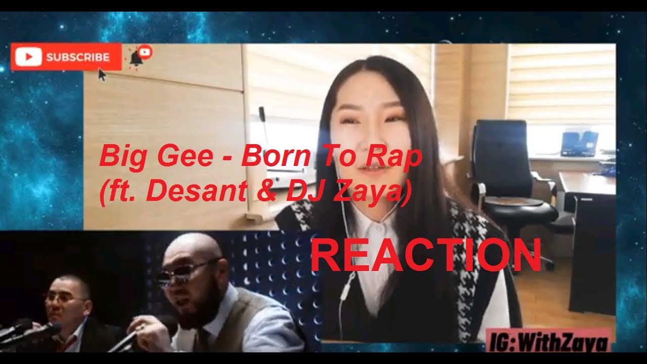 Download Big Gee - Born To Rap (ft. Desant & DJ Zaya) | REACTION