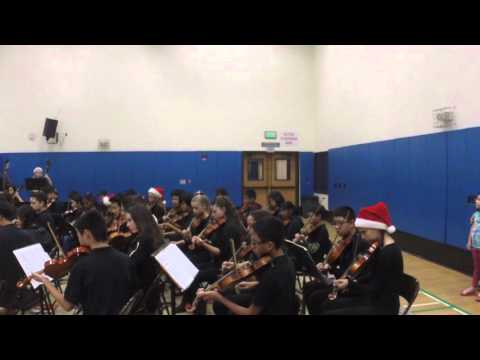 Easterbrook Discovery Orchestra performance 12-10-2015