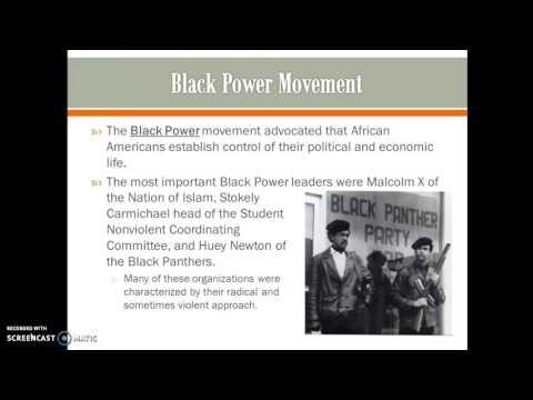 The Civil Rights Movement and Counterculture 1950-1970