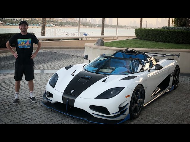 My Friends Airfreighted their Koenigsegg Agera RS to Dubai