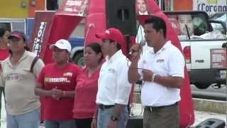 Fernando Charleston. Compromiso por las comunidades de Coacoatzintla.