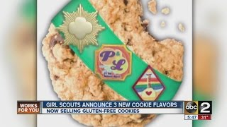 Girl Scouts Unveil 3 New Cookie Flavors