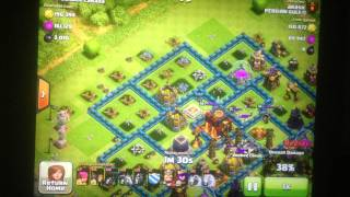 Clash of Clans Champions League Defense Replay +31 cups!