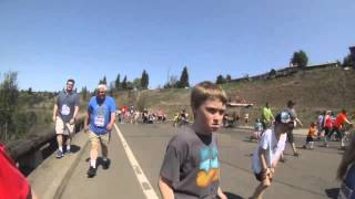 Running Bloomsday in 2 minutes
