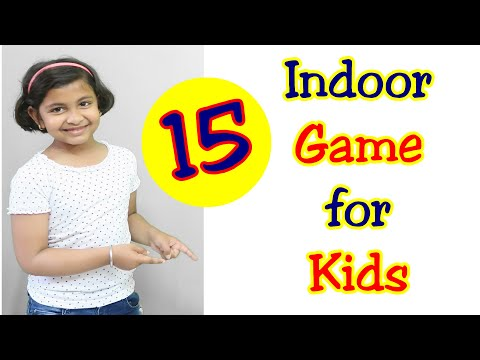 6 Preschool Indoor Games