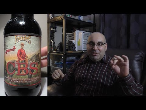 Founders CBS Canadian Breakfast Stout Review - Drinking In Canada