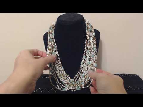 ASMR Whisper ~ Necklace / Jewelry Show & Tell