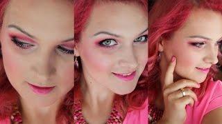 Różowo mi - pink hair & pink makeup & pink OOTD