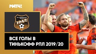 Все голы «Урала» в Тинькофф РПЛ сезона 2019/20