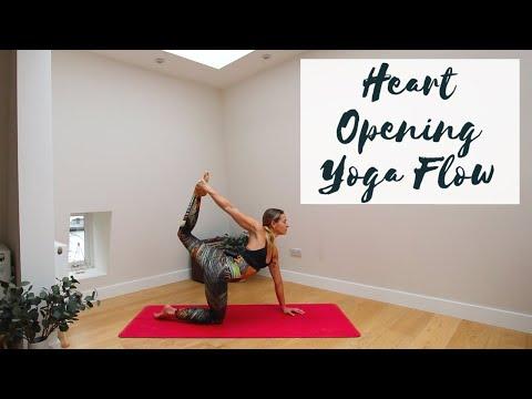 HEART OPENING YOGA | 20-Minute All Levels Flow | CAT MEFFAN