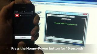 How To Use IREB To Put IPhone In Pwned DFU Mode On Windows?