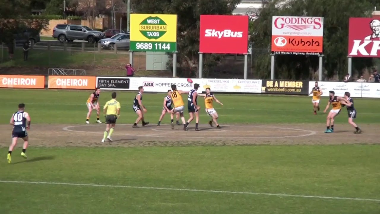 EF  Werribee Goal From Stoppage