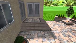 Creative Earthscapes 3d Design Patio With Pergola