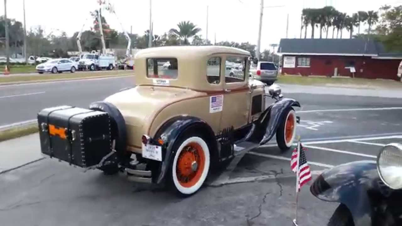Ford Model A Classic Vintage Antique Cars - YouTube