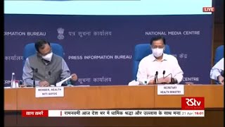 Health Ministry briefs media on the current COVID-19 situation in India | 21 April, 2021