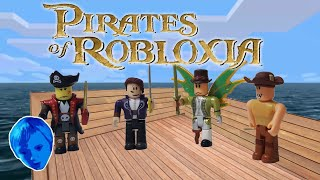 NEVERLAND LAGOON ROBLOX TOYS, Series 3 Blue Box opening + Captain Rampage and Skybound Admiral