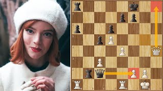 Feeling That I'd Already Lost || Borgov vs Harmon || Netflix's Queen's Gambit