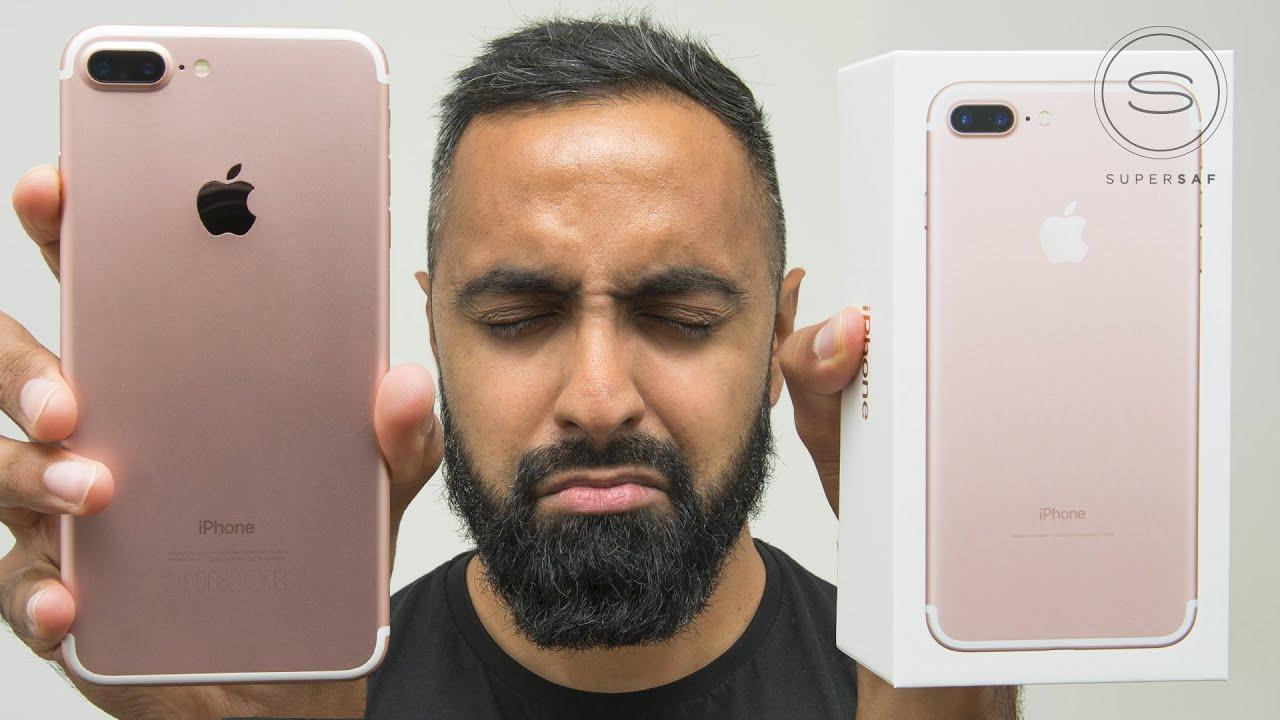 IPhone 7 Plus ROSE GOLD Unboxing