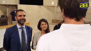 Almería rinde homenaje a los Hispanos con una recepción en el Ayuntamiento