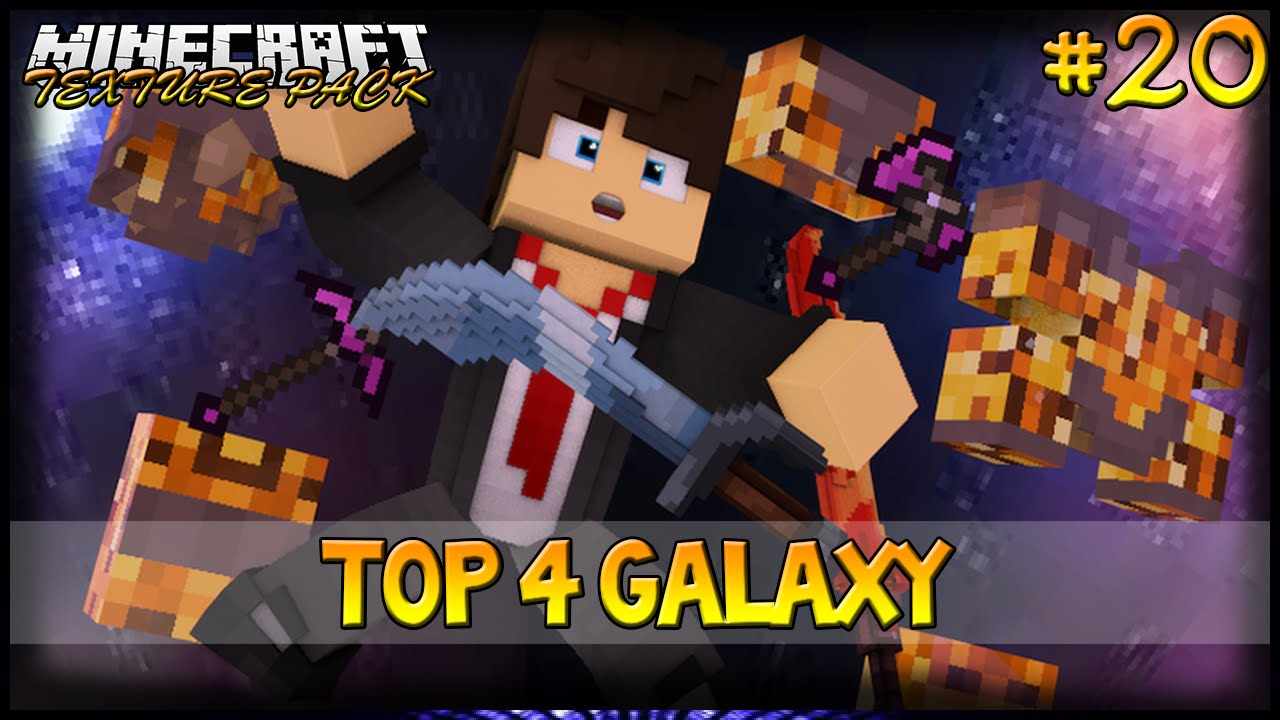 Minecraft: TOP 4 Texture Pack Galaxy, Nebula, Universe ...
