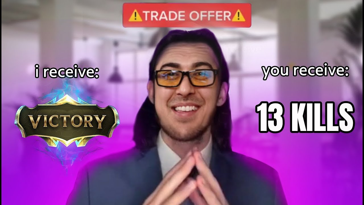 YOU RECEIVE 13 KILLS, I RECIEVE VICTORY