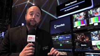 2016 NAB Show: Will Waters, Product Marketing Director at NewTek