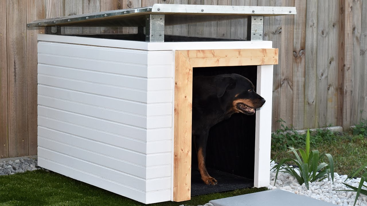 How to make a dog house part 1 diy build youtube