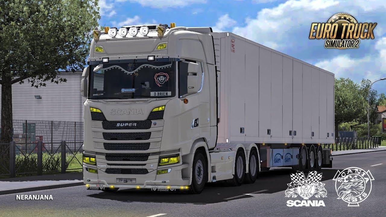 Euro Truck Simulator 2 ReMoled Scania Next Gen V1 7 [1 32]