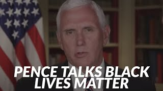 Vice President Mike Pence talks Black Lives Matter with 6abc