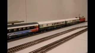 "HO ROCO スイス客車2種 ""PCE""(品番64084) & SBB EW-IV ""Canton du Varais""(品番64091)"