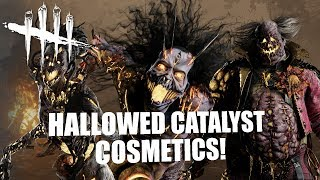 HALLOWED CATALYST COSMETICS! | Dead By Daylight Spirit/Clown GAMEPLAY