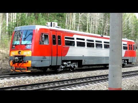 Техника РЖД - Рельсовый автобус РА1-0078