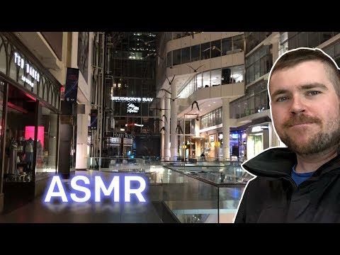 ASMR After-Hours Mall Tour: Toronto Eaton Centre
