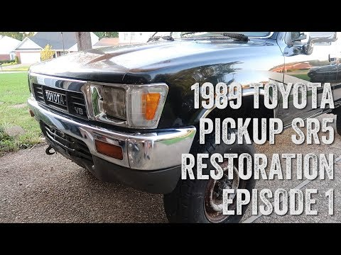 Still Untitled - 1989 Toyota Pickup Full Restoration