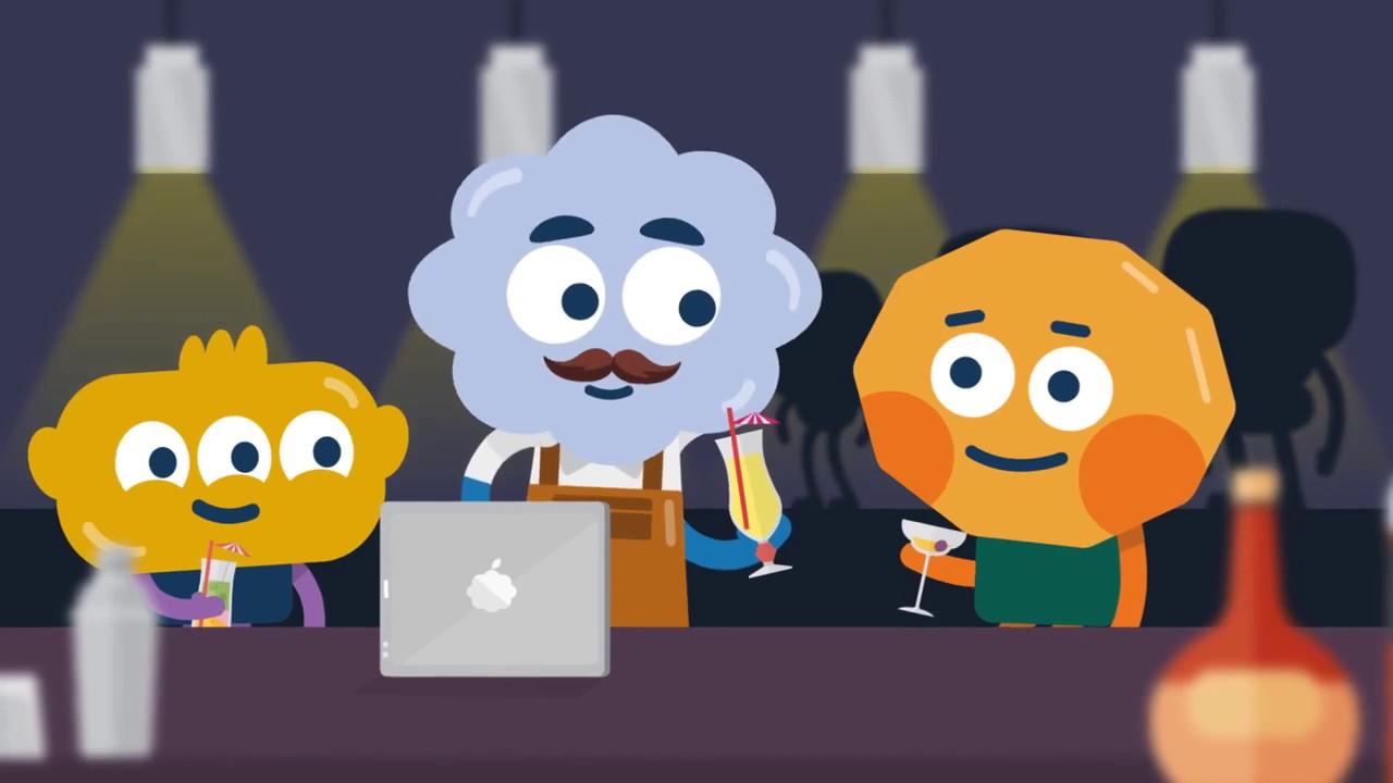 opcionų prekybos animacinis filmas