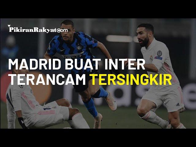 Hasil Inter vs Real Madrid: Emosi Arturo Vidal Bikin El Real Dekat ke Babak 16 Liga Champions