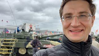 Форум «Армия-2019» в Кубинке и выставка военной техники