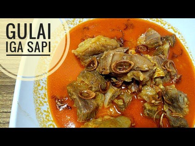 Resep Gulai Iga Sapi Youtube