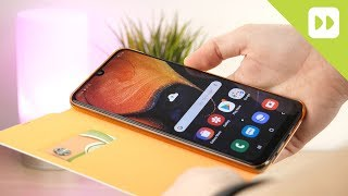 Official Samsung Galaxy A50 Wallet Flip Cover Case Review