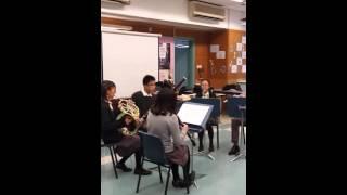 港大同學會書院十週年開放日音樂室表演