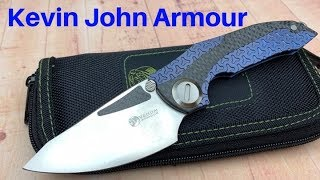 Kevin John Armour Knife   Another great addition to the KJ lineup !
