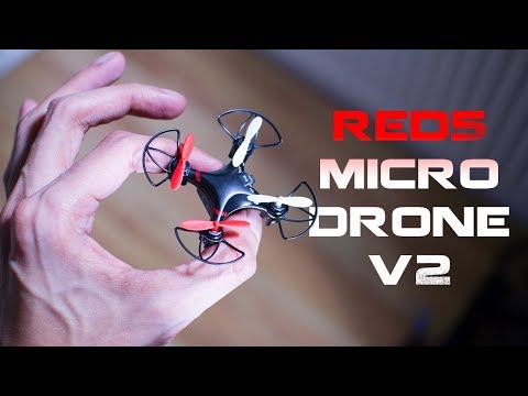 Red5 Micro Drone V2 Unboxing & Flight